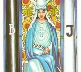 Značenje tarot karte Velika Svećenica