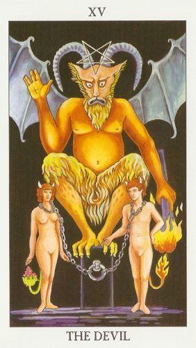 Značenje tarot karte Đavo