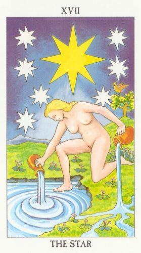 Značenje tarot karte Zvezda